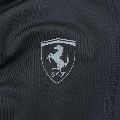 フェラーリ レディース SF トレーニング レギンス ブラック