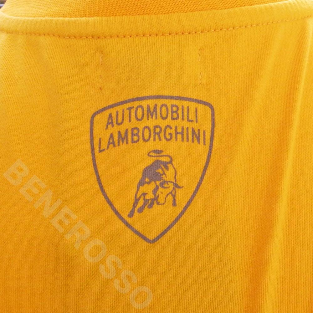 ランボルギーニ メンズ ビッグ Bull Tシャツ イエローホース 9011996CCY042