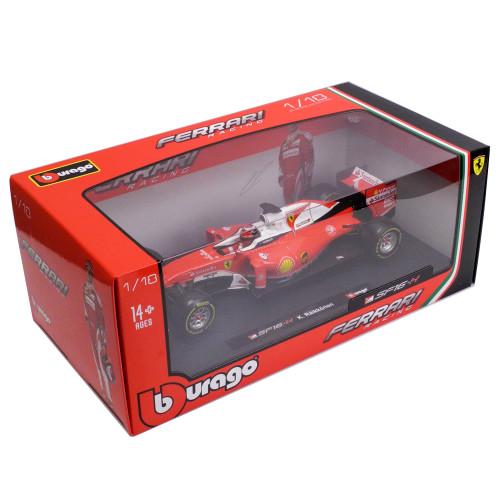 BBURAGO 1/18スケール フェラーリ SF16-H K.ライコネン 2016年モデル BRG-18-16802KR