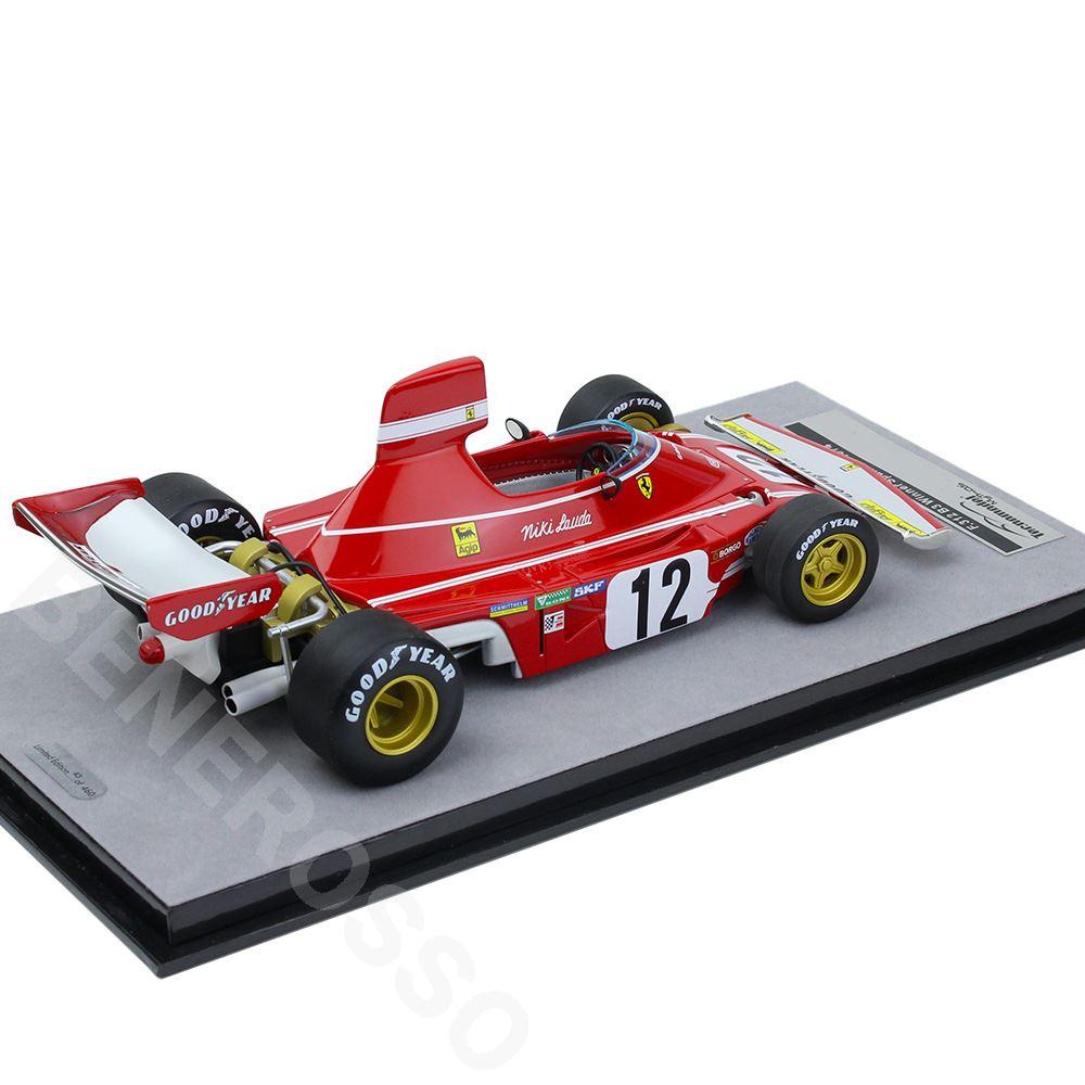 テクノモデル 1/18スケール フェラーリ 312 B3 Spanish GP 1974 #12 N.ラウダ Winner TM18-89A