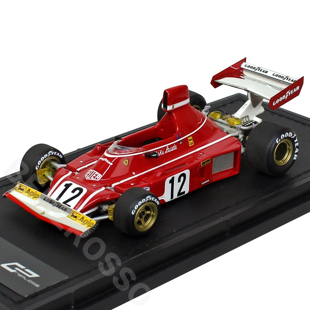 TOPMARQUES 1/43スケール フェラーリ 312B3 1974 No.12 N.ラウダ GRP43001A