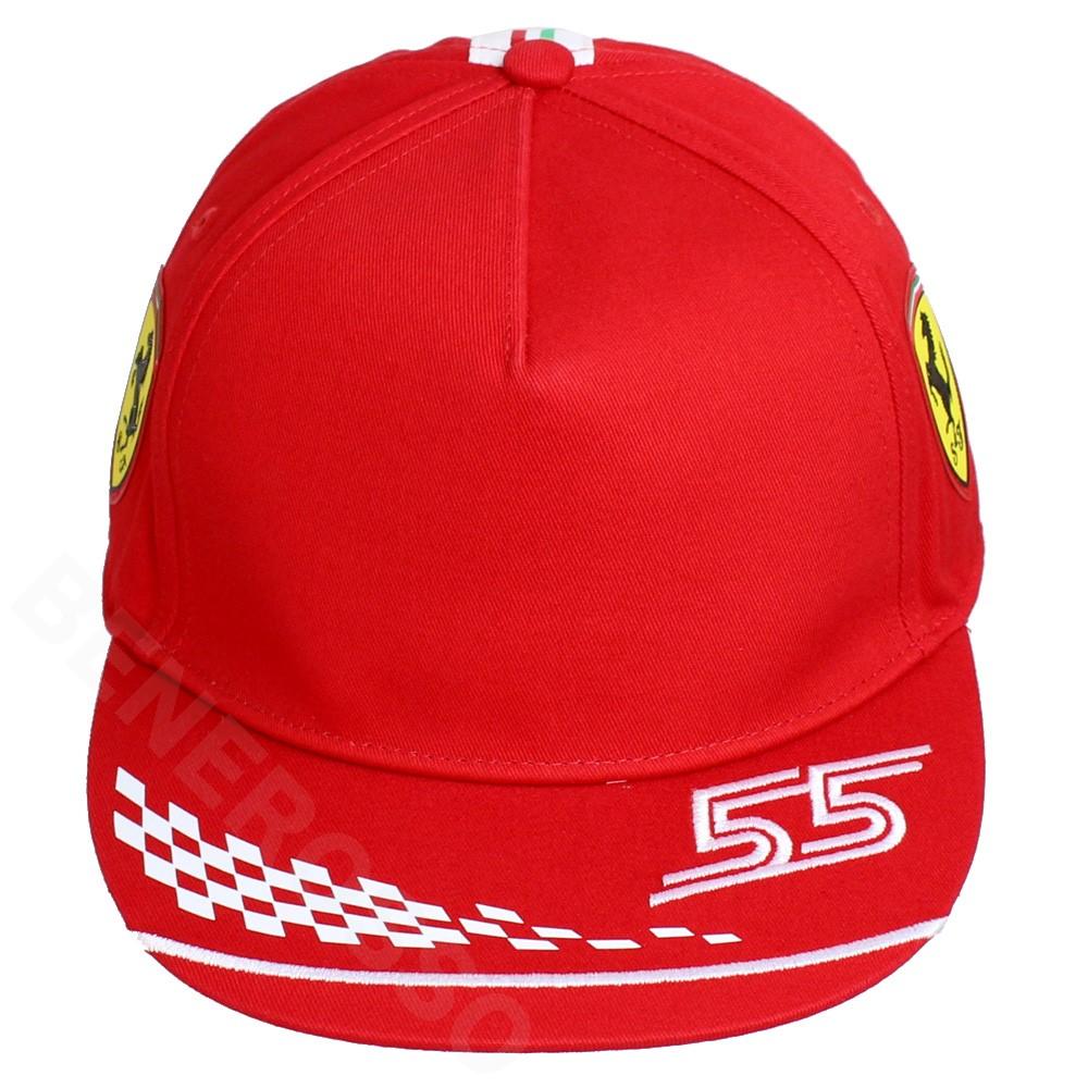 PUMA スクーデリア フェラーリ チーム C.サインツ ドライバー キャップ 2021 レッド 023626-01