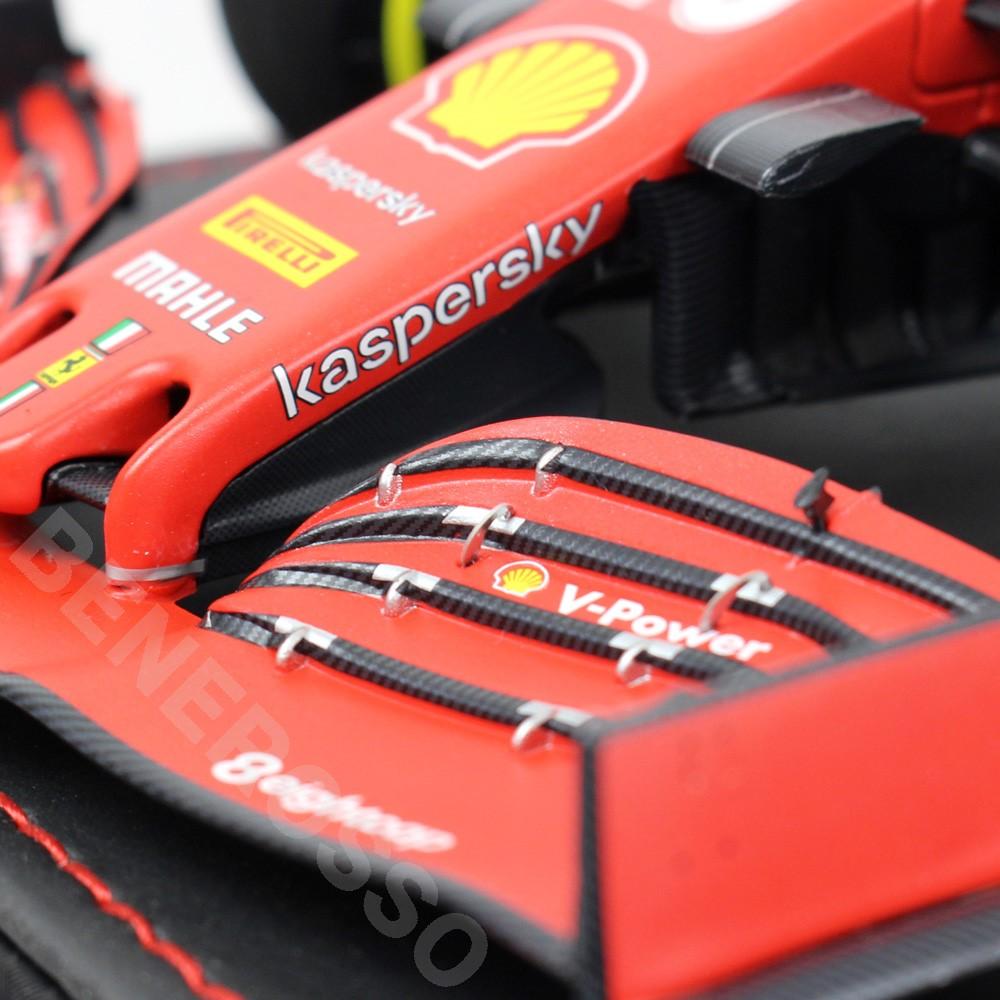 BBR MODELS 1/18スケール フェラーリ SF1000 2020 オーストリアGP C.ルクレール (ケース付き) BBR201816DIE