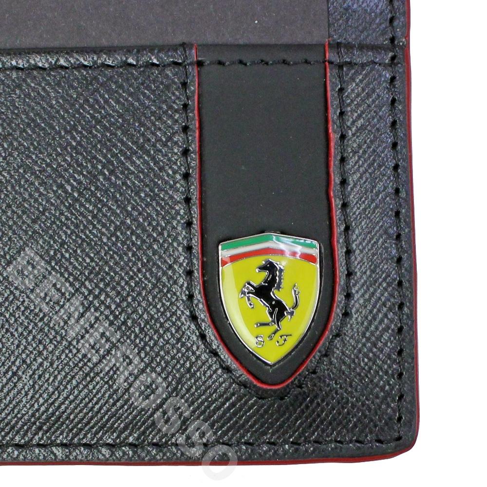 フェラーリ サフィアーノ レザー EVO クレジットカード ホルダー