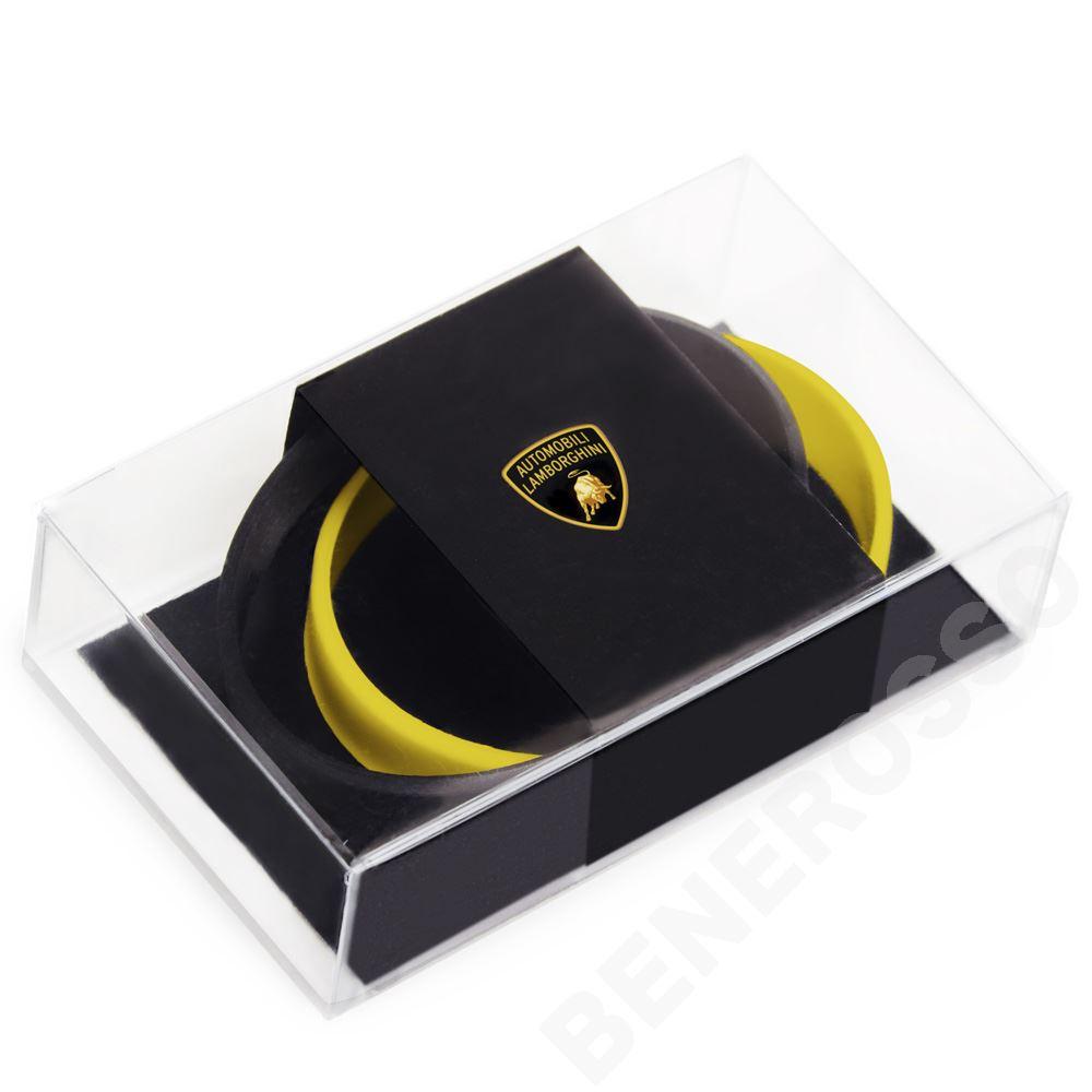 ランボルギーニ シリコン ブレスレット セット BK/YL 9011655SYB034