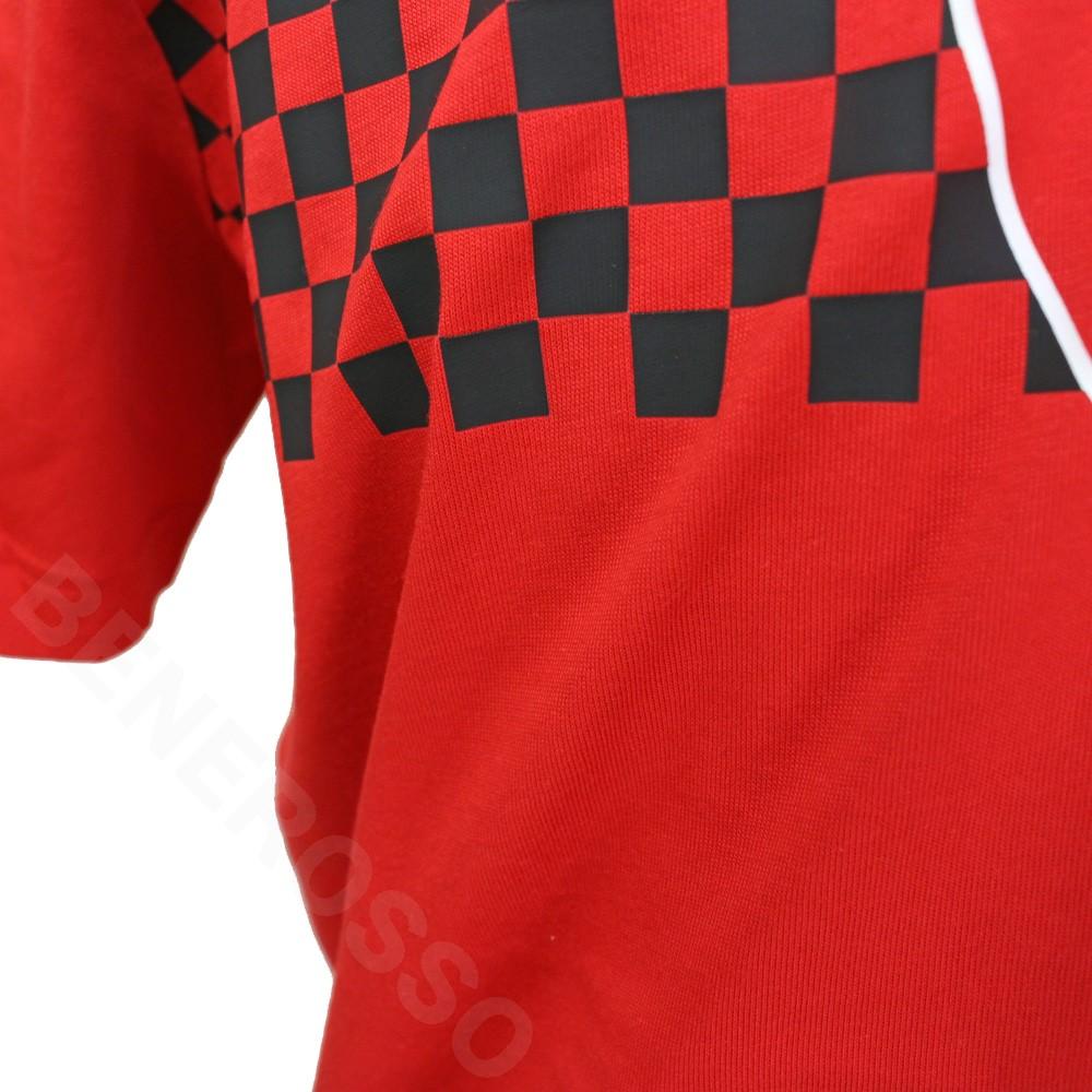 PUMA フェラーリ SF レース チェッカーフラッグ Tシャツ 2021 レッド 599848-02