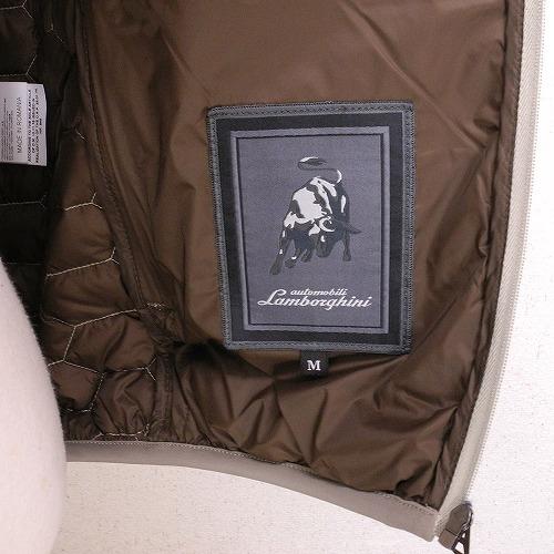 ランボルギーニ メンズ ダウン ベスト ダークトープ 9009636WWD