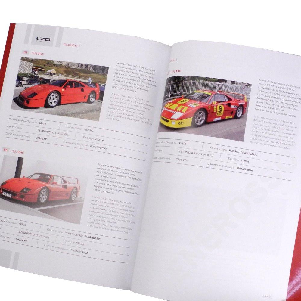 フェラーリ 70周年記念式典 カタログ CONCORSO D'ELEGANZA 【返品・交換対象外】