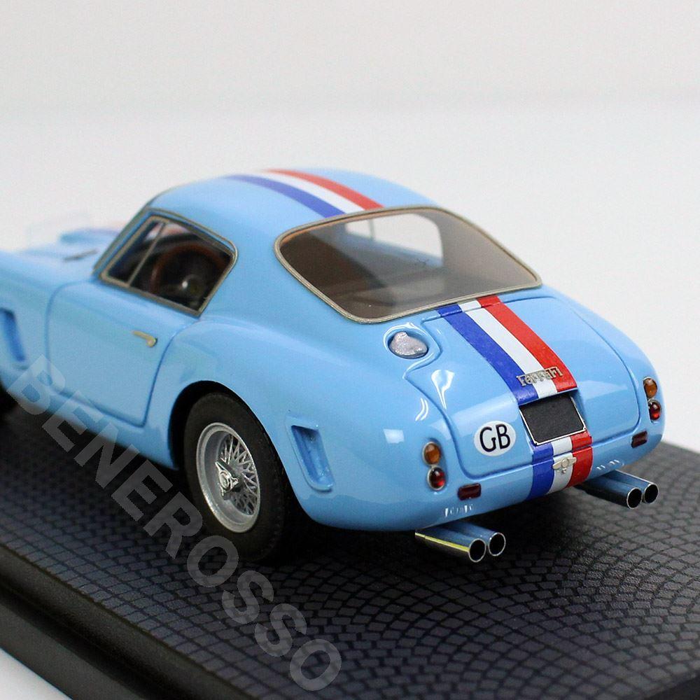 BBR MODELS 1/43スケール フェラーリ 250GT SWB s/n 2127GT 70th Relay CAR15A-1