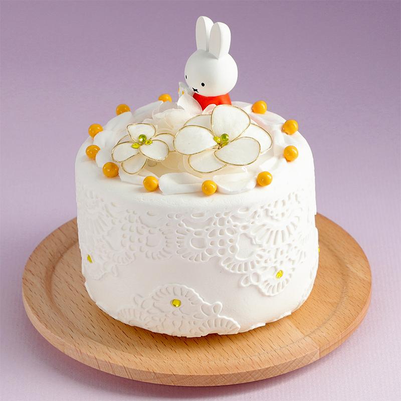 フラワーミッフィー ハッピーバースデーケーキアレンジ 11月