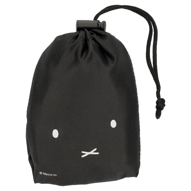 ポケッタブルショッピングバッグ S BLACK