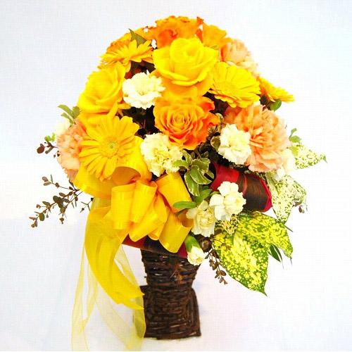 【直送商品B】アレンジ 黄・橙系