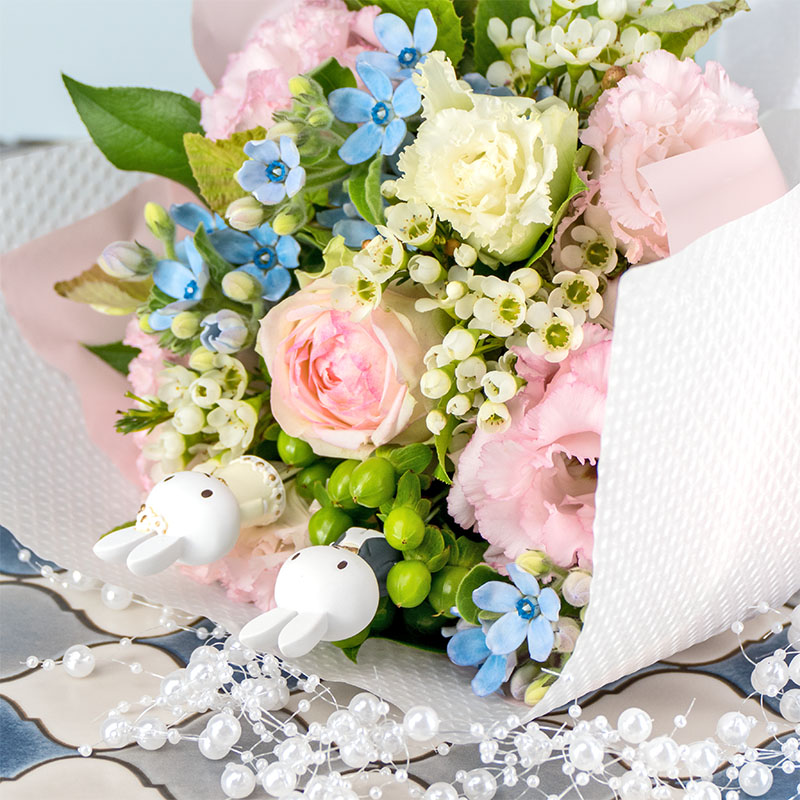 【直送商品A】フラワーブーケ 幸せの花束