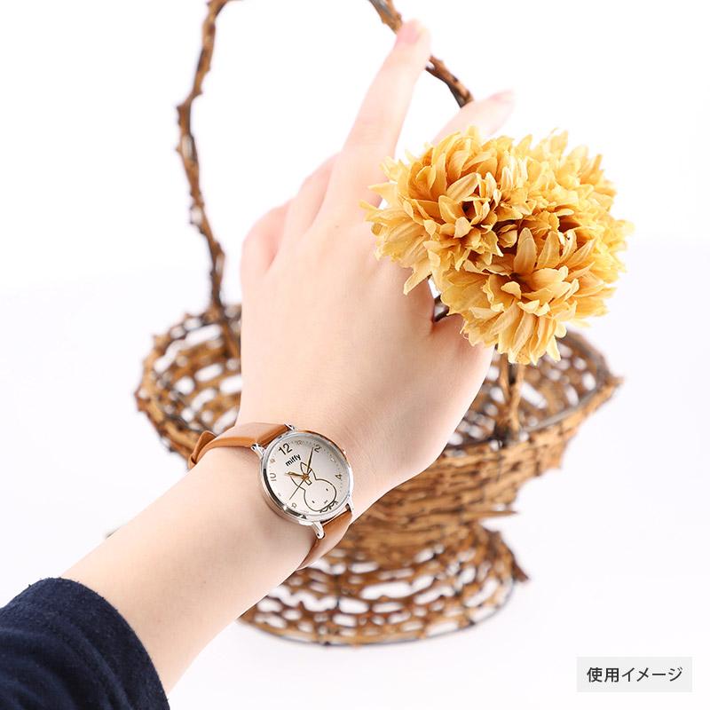 アンジェーヌ 腕時計ミッフィーコラボ ミッフィー