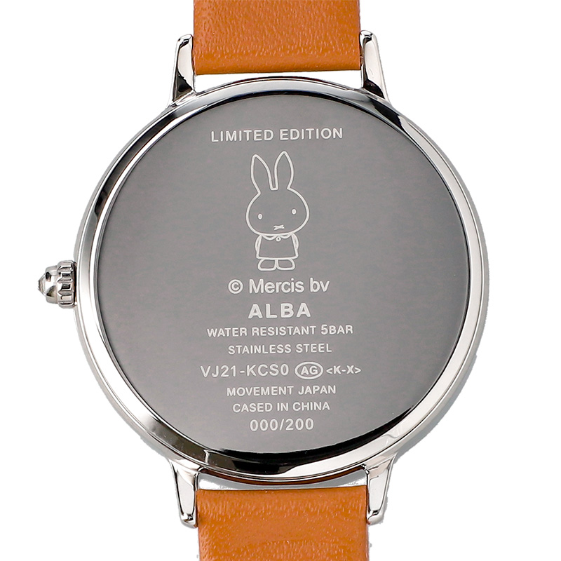 アンジェーヌ 腕時計ミッフィーコラボ フラワーミッフィー限定デザイン