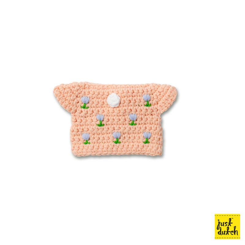 チューリップ ドレス ハンドメイド ピンク