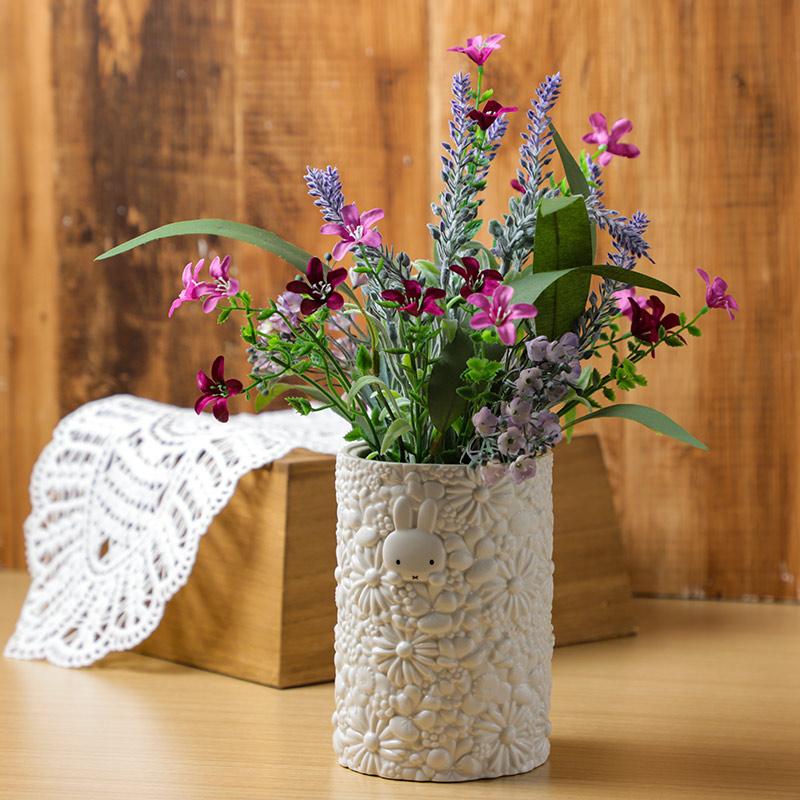 お花いっぱいフラワーベースアートフラワーセット【2021母の日】 ※他商品同梱・日時指定不可