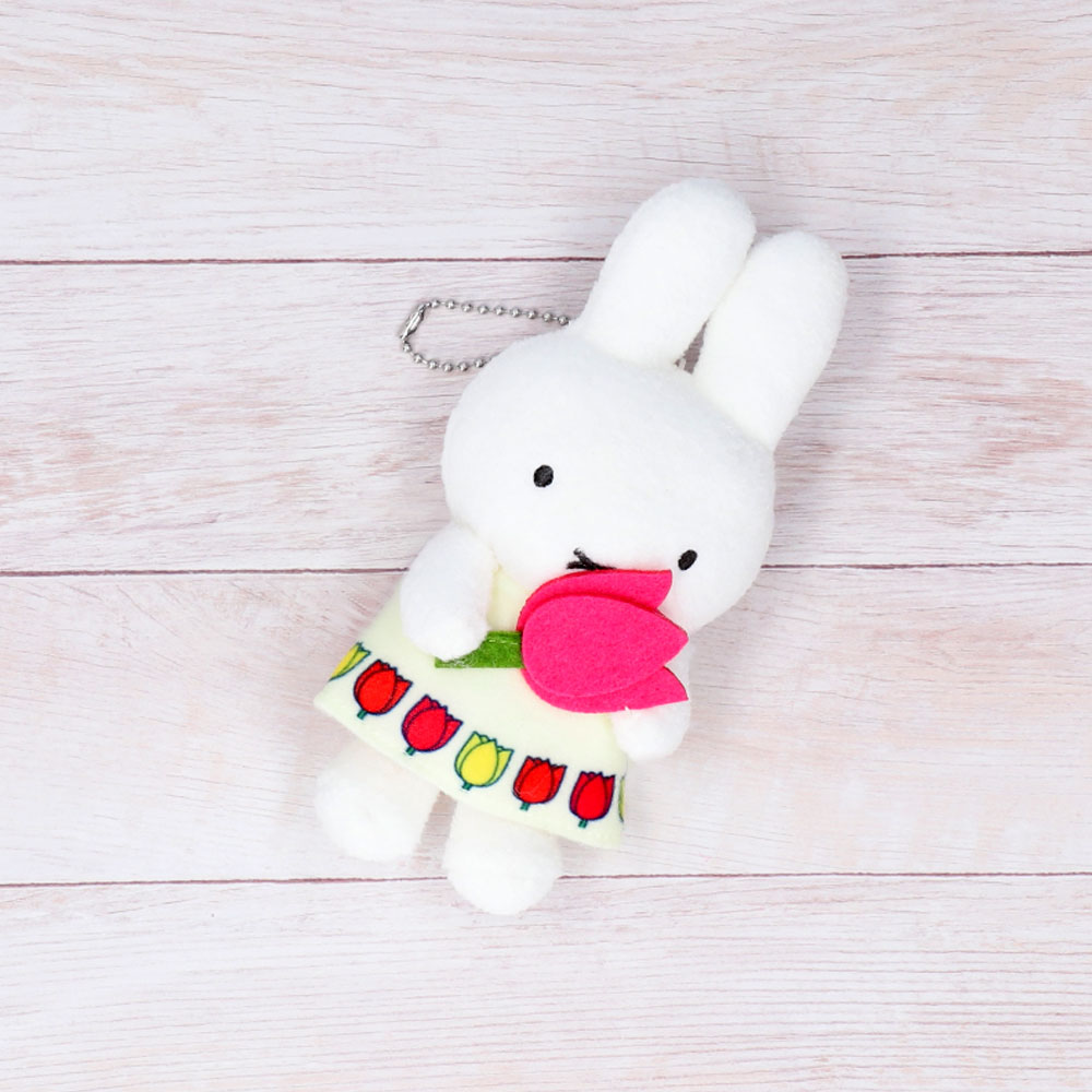 miffy and tulip マスコットキーチェーン