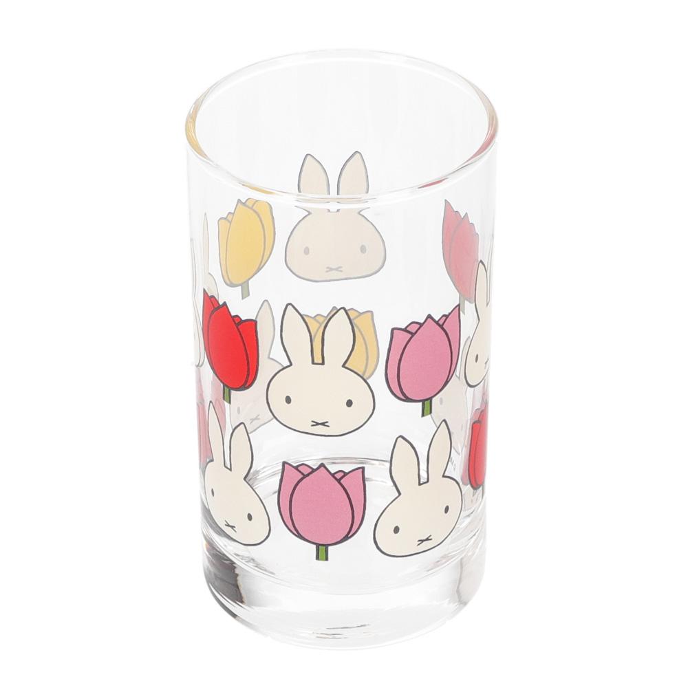 グラス miffy and tulips