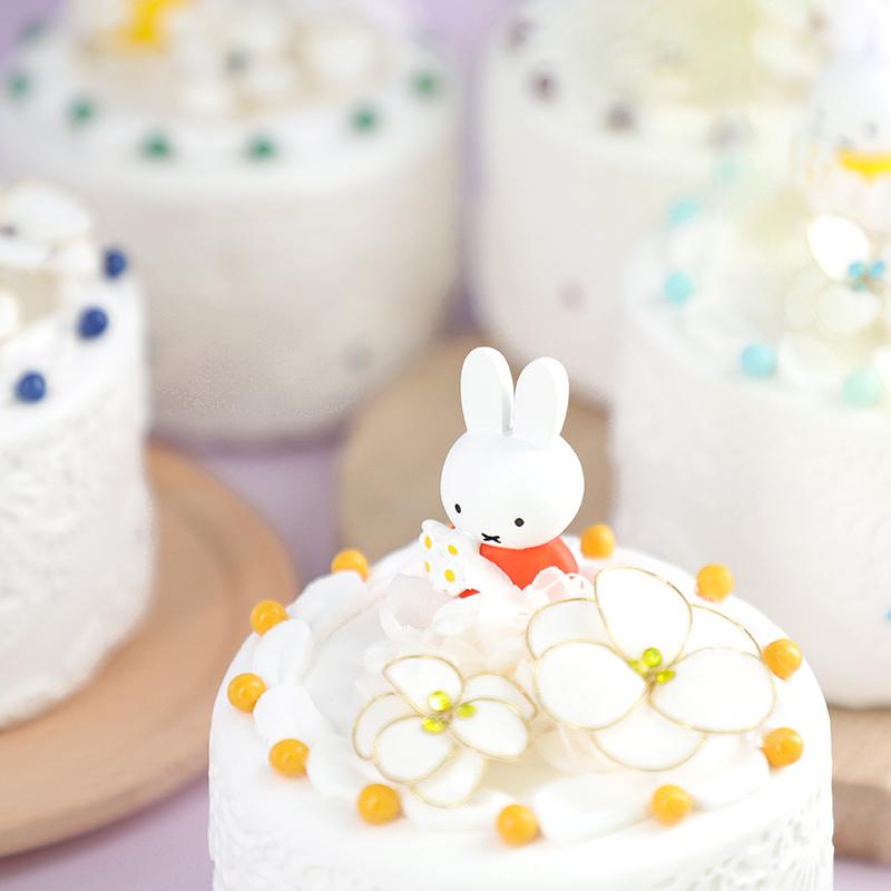 フラワーミッフィー ハッピーバースデーケーキアレンジ 5月