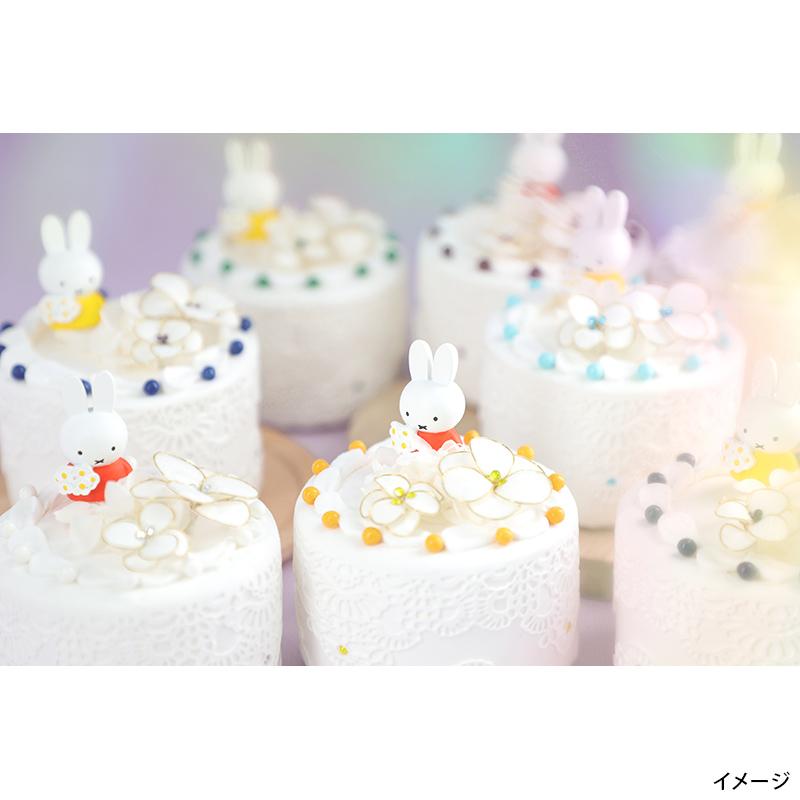 フラワーミッフィー ハッピーバースデーケーキアレンジ 6月