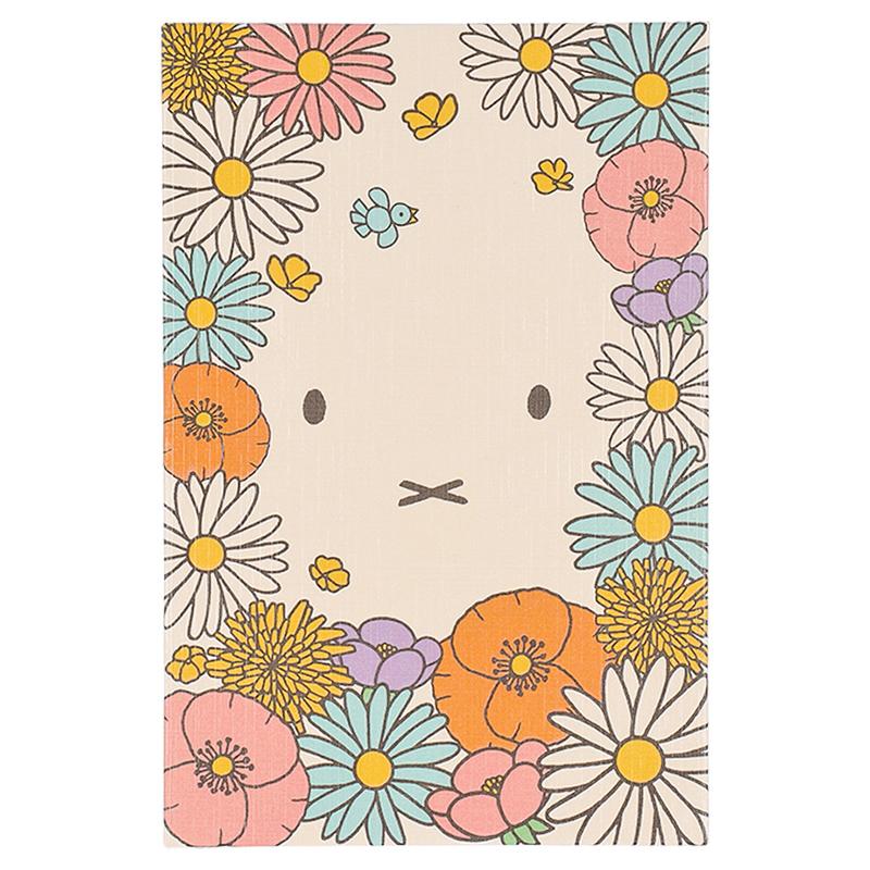 フラワーミッフィー御朱印帳 お花畑