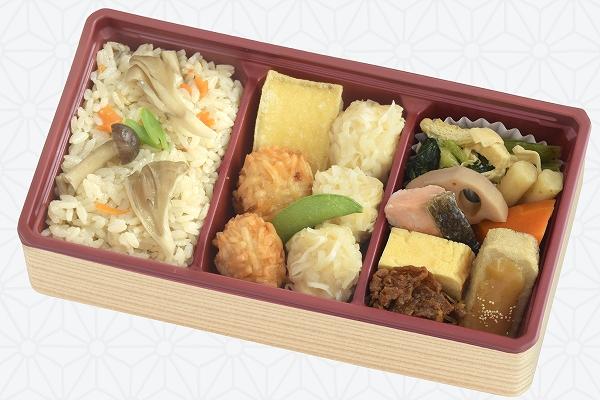 豆腐しゅうまい弁当/きのこご飯 〜11/23