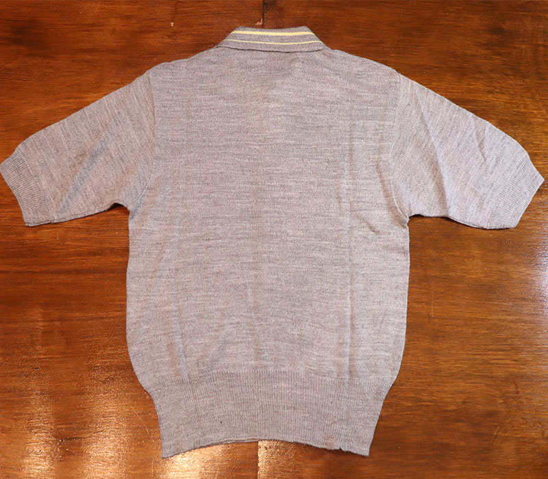 1960s S/S  KNIT POLO , MANHATTAN , Size S