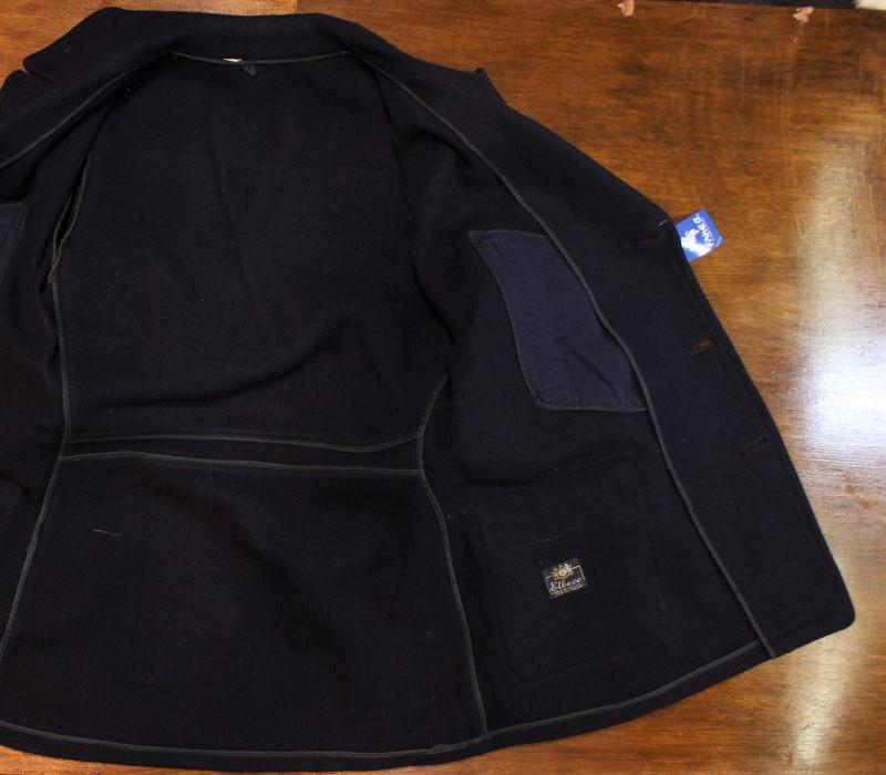 1940s WOOL COAT , Size 38