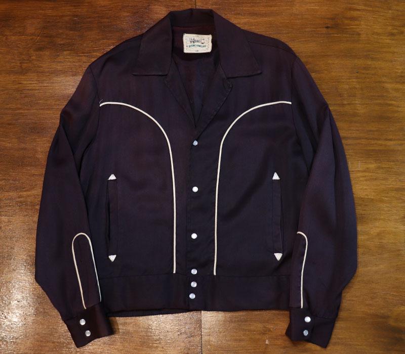 1950s H BAR C , WESTERN BLOUSON , Size 38