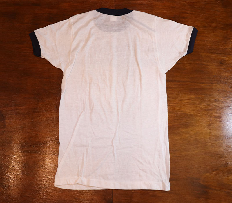 1980s DEAD STOCK , RINGER T-SHIRT , MW , 2 PAC , Size S