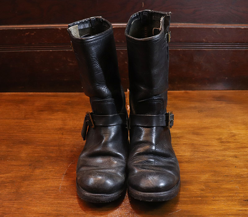 1970s ENGINEER BOOTS , Size 8 1/2~