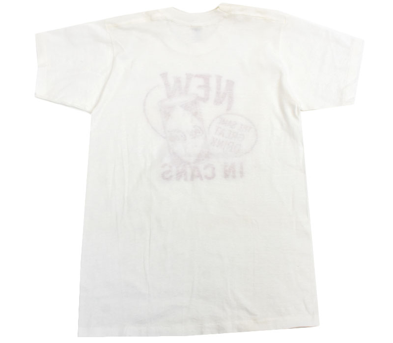 60's Velva Sheen コカ・コーラ プリントTシャツ 表記(M-40) DEAD