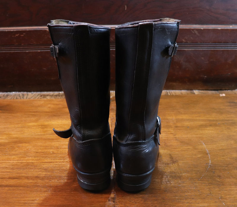 1950s ENGINEER BOOTS , Size 8