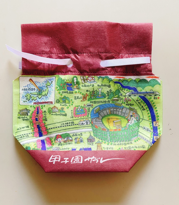 巾着入り甲子園サブレ(8枚入り)
