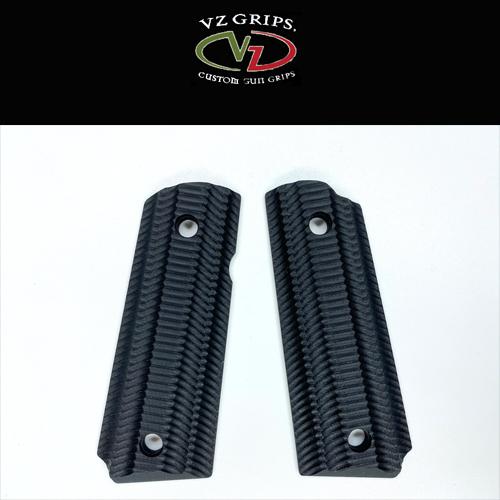 【VZ Grip】1911コンパクト用 AL-B-COM Aliens Black
