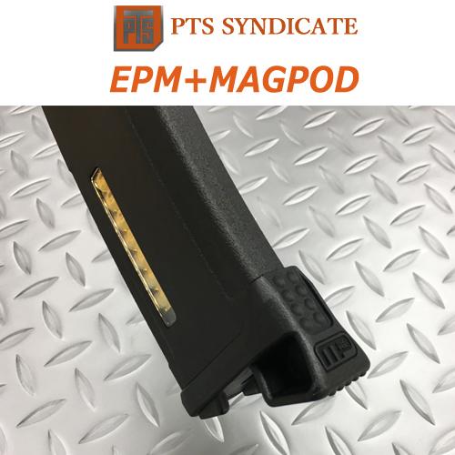 【アクセスオーバーシーズ正規品】PTS EPM M4マガジン≪次世代電動ガン用≫+MAGPOD装着済