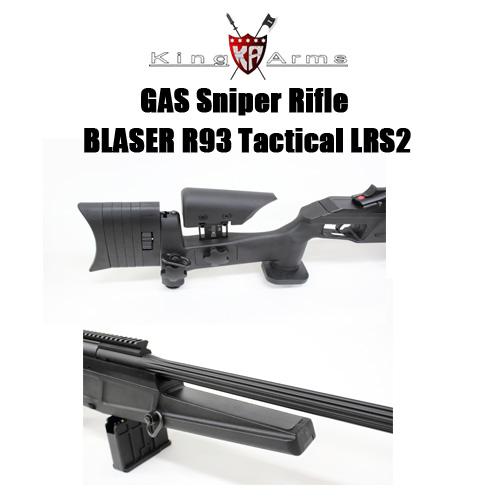 【送料無料】【KingArms】Blaser R93タクティカル LRS2 ガスライフル
