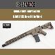 東京マルイ M4A1GBBベースNOVESKE Gen III Infidel Rifle FDEセラコート