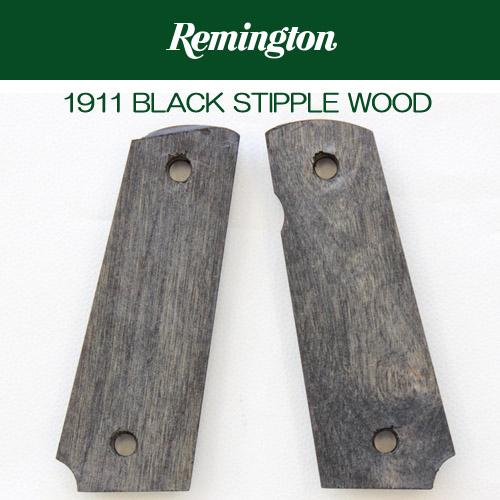 【Remington】1911BLACK Stipple Wood