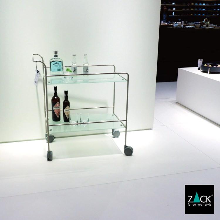 ZACK 50727 MECOR ドイツZACK社製モダンデザインのサービングトローリー [お取寄せ]