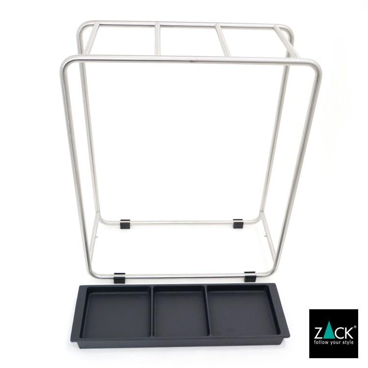 ZACK 50731 MECOR ドイツZACK社製モダンデザインのアンブレラスタンド(傘立て) [在庫有り]