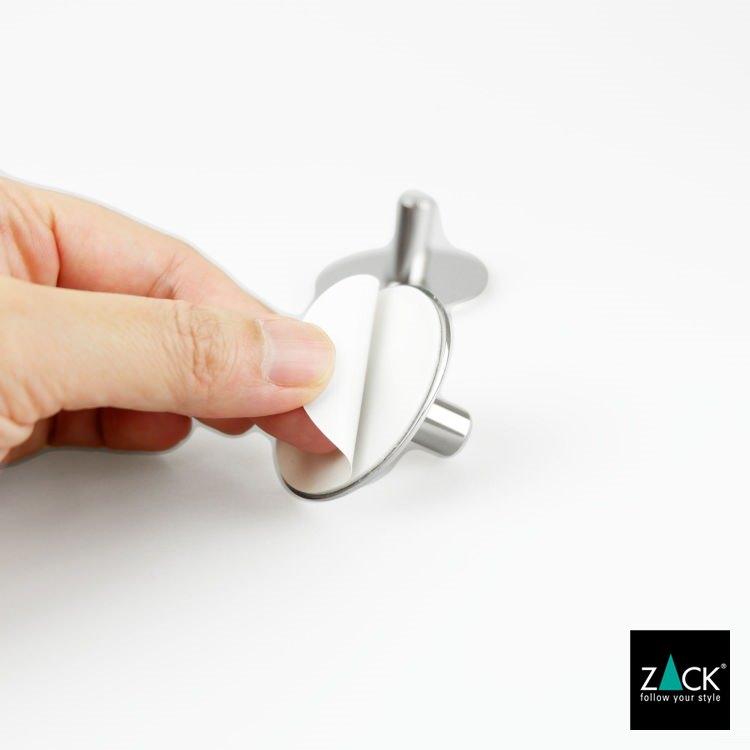 ZACK 40332 DUPLO ドイツZACK社製モダンデザインのタオルフック(ラウンド/2個入)[在庫有り]