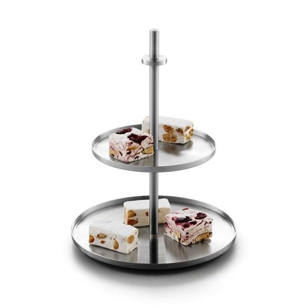 [廃番] ZACK 30685 PILIO ドイツZACK社製モダンデザインのケーキスタンド