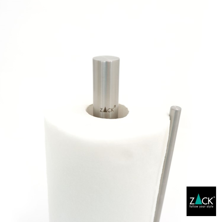 ZACK 20707 LINGO ドイツZACK社製モダンデザインのキッチンペーパーホルダー [お取寄せ]