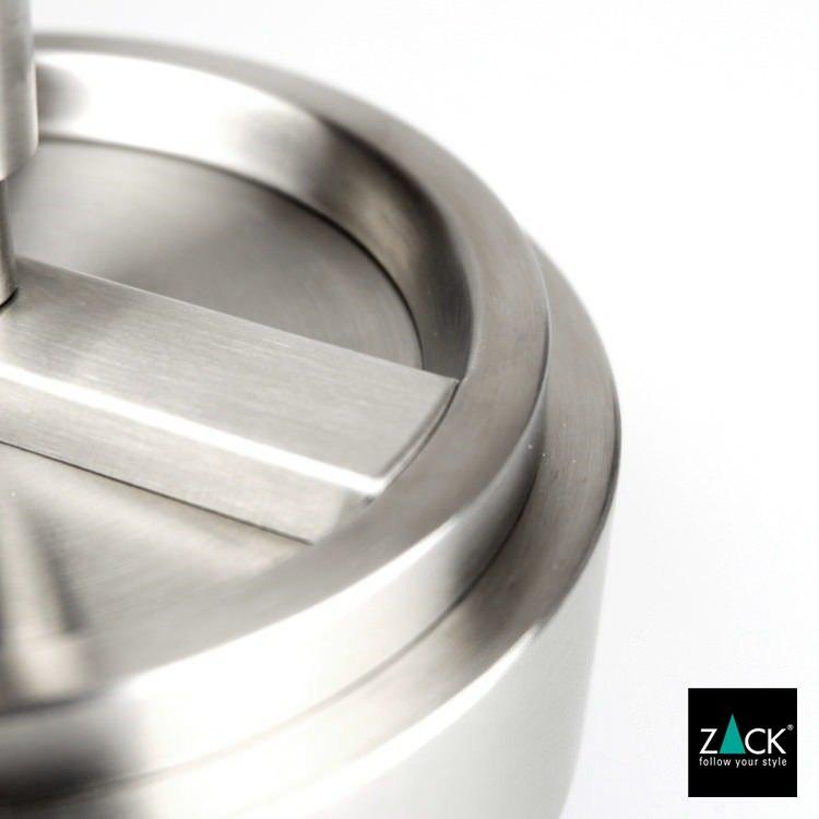 ZACK 50163 CONTAS ドイツZACK社製モダンデザインのリボルビングアッシュトレイ(灰皿) [在庫有り]