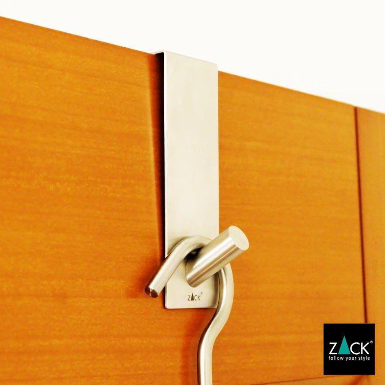 ZACK 20724 EXIT ドイツZACK社製モダンデザインのドアフック 41mm幅 [在庫有り]