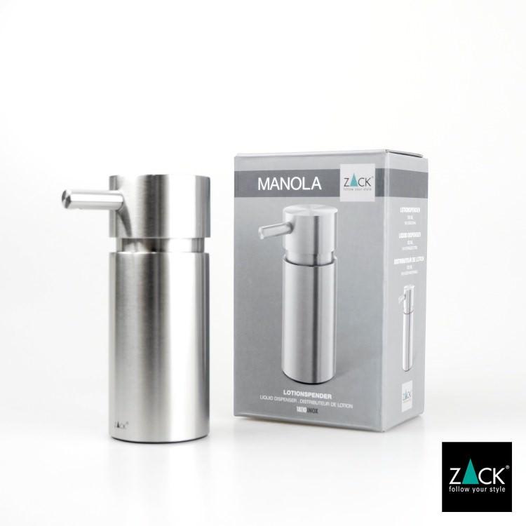 ZACK 40310 MANOLA ドイツZACK社製モダンデザインのリキッドディスペンサーS [在庫有り]
