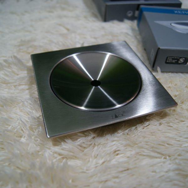 [廃番] ZACK 40010 XERO ドイツZACK社製モダンデザインのソープディッシュ(ソープトレイ)