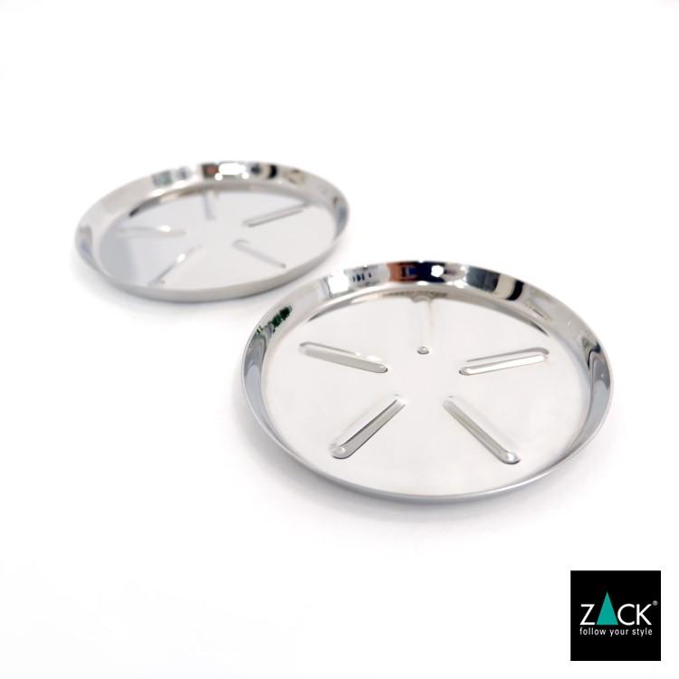 ZACK 20845 COLLO ドイツZACK社製モダンデザインのコースター(2個セット) [在庫有り]